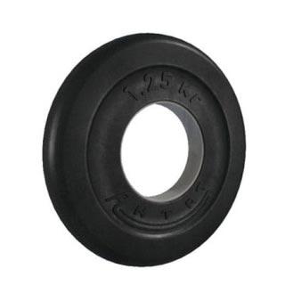 Металлические обрезиненные диски диаметром 31 мм для штанги под гриф 30 мм