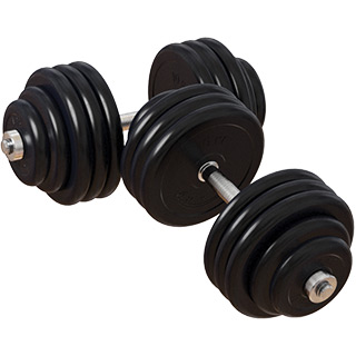 Гантели 80 кг, 31 мм